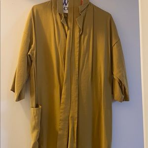 Yellow mustard jumpsuit by Native Youth